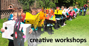 Creative Workshops for Children, Families and Events