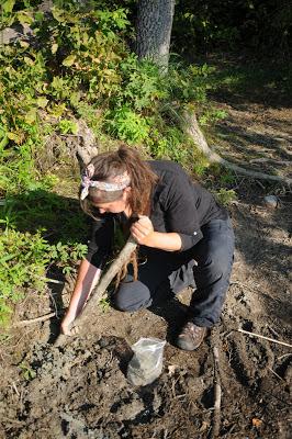 Clay digging