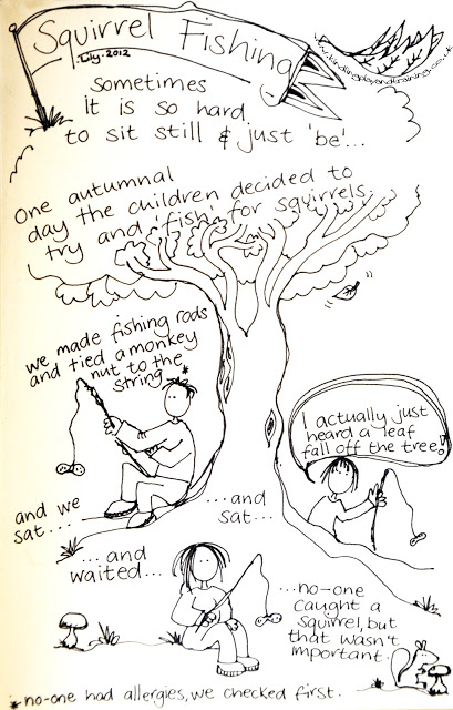 forest school, outdoor play, nature, children, doodle